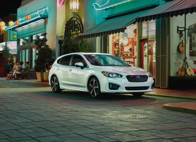 2019 Subaru Impreza The All Weather Compact Car Gets Safer