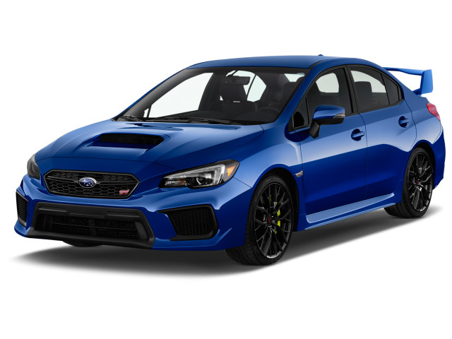2019 Subaru WRX STI Manual Angular Front Exterior View