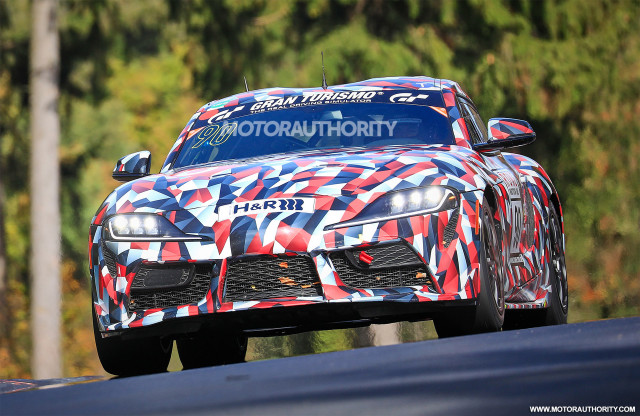 Listen to the 2020 Toyota Supra's inline
