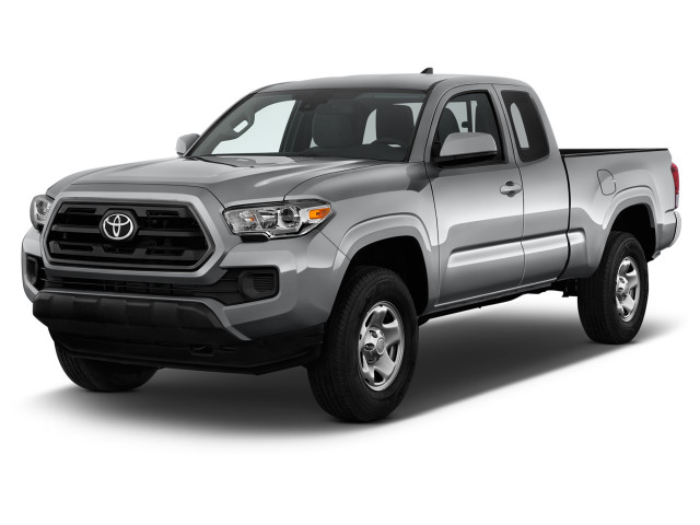 2019 Toyota Tacoma 2WD SR5 Access Cab 6' Bed I4 AT (GS) Angular Front Exterior View