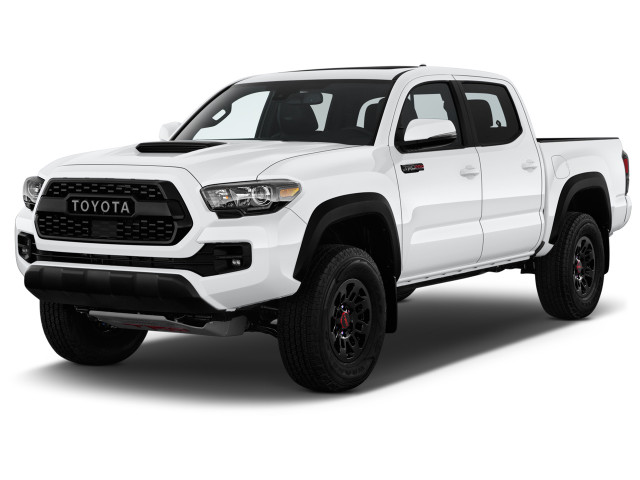 2019 Toyota Tacoma 4WD TRD Pro Double Cab 5' Bed V6 AT (SE) Angular Front Exterior View