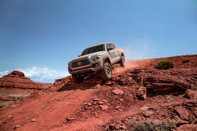 Toyota Tacoma recalled for brake fluid leak; Land Cruiser and Lexus LX 570 for seatbelt sensor error