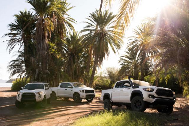 2019 Toyota TRD Pro lineup