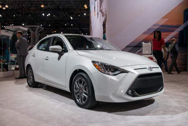 2019 Toyota Yaris, 2018 New York auto show