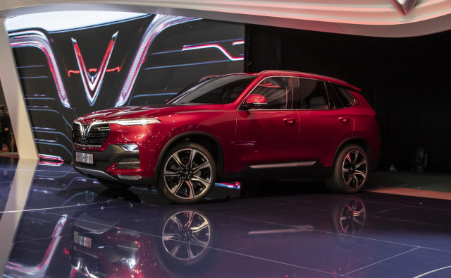 Vietnam S Vinfast Launches At Paris Auto Show With Pair Of Rebodied Bmws