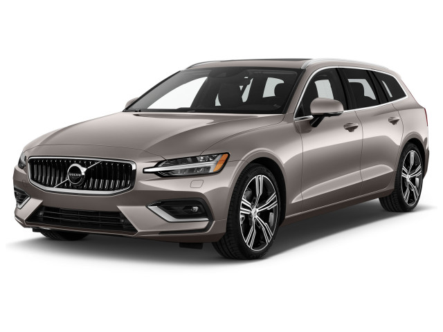 2019 Volvo V60 T6 AWD Inscription Angular Front Exterior View