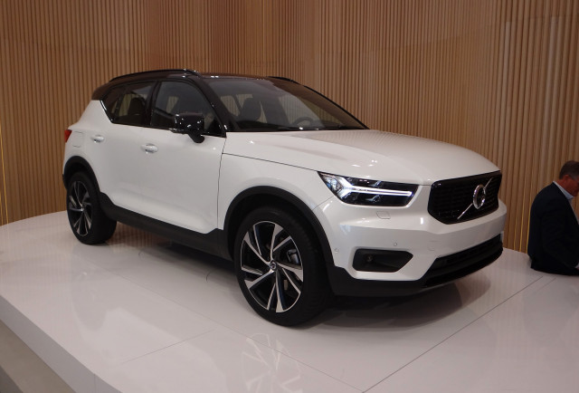 2019 volvo xc40 preview buy your suv like you buy your smartphone. Black Bedroom Furniture Sets. Home Design Ideas