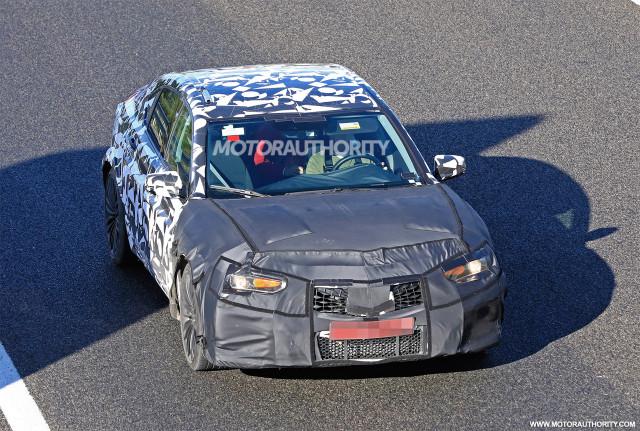2020 Acura TLX Type S spy shots - Image via S. Baldauf/SB-Medien