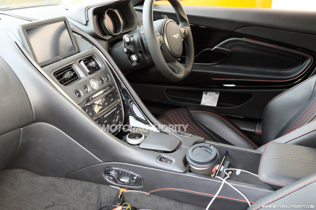 Inside The New Aston Martin DB11 AMR
