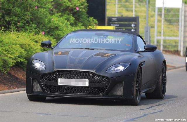 2020 Aston Martin DBS Superleggera Volante spy shots - Image via S. Baldauf/SB-Medien