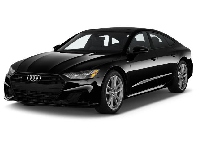 2020 Audi A7 Premium Plus 55 TFSI quattro Angular Front Exterior View