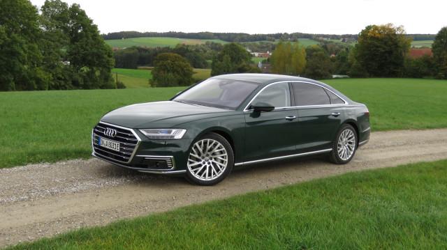 2020 Audi A8 plug-in hybrid (Euro spec)