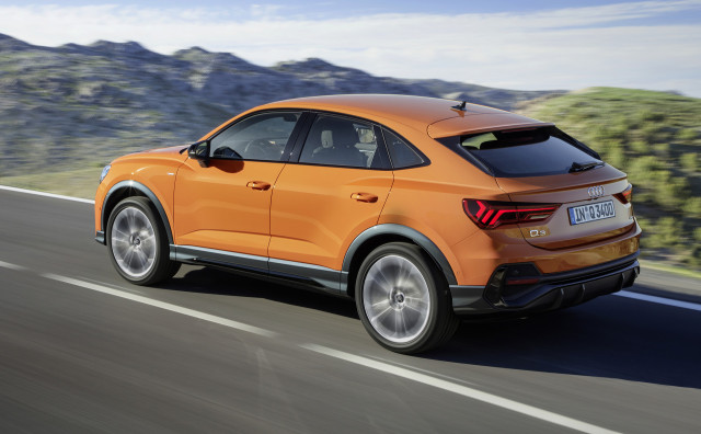 Audi Q3 Sportback revealed, but no US sales planned