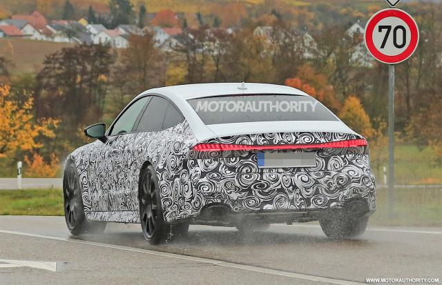 2020 Audi RS 7 spy shots - Image via S. Baldauf/SB-Medien