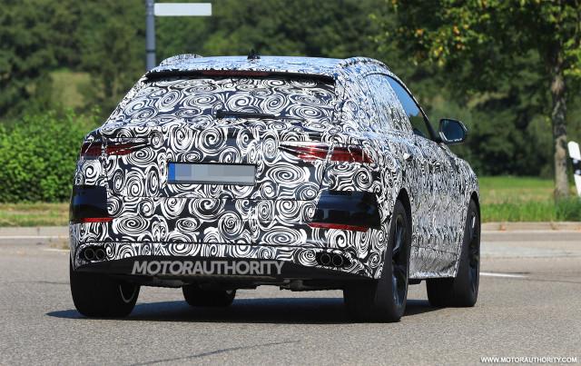 2020 Audi SQ8 spy shots - Image via S. Baldauf/SB-Medien
