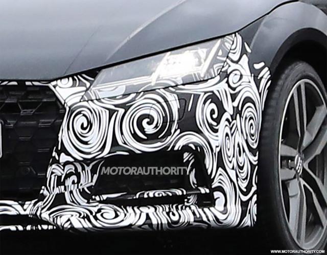 2020 Audi TT facelift spy shots - Image via S. Baldauf/SB-Medien
