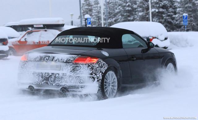 2020 Audi TT Roadster facelift spy shots - Image S. Baldauf/SB-Medien