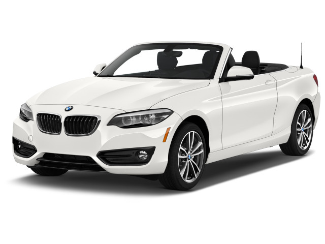 2020 BMW 2-Series 230i Convertible Angular Front Exterior View