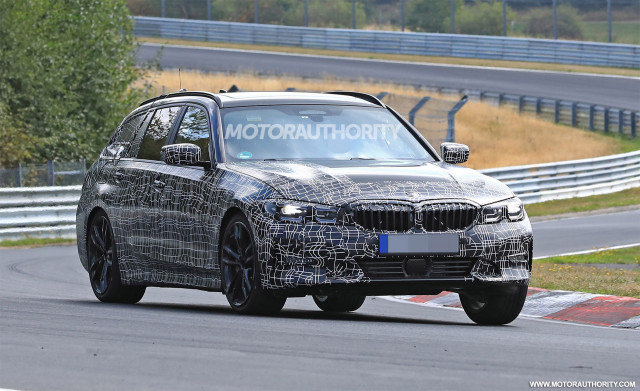 2020 BMW 3-Series Sports Wagon spy shots - Image via S. Baldauf/SB-Medien