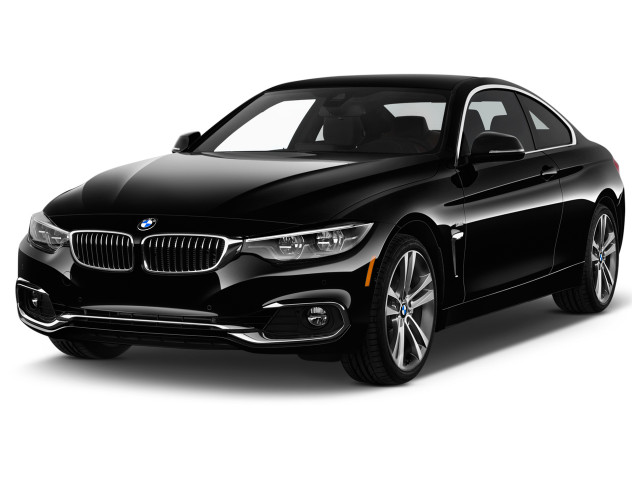 2020 BMW 4-Series 430i Coupe Angular Front Exterior View