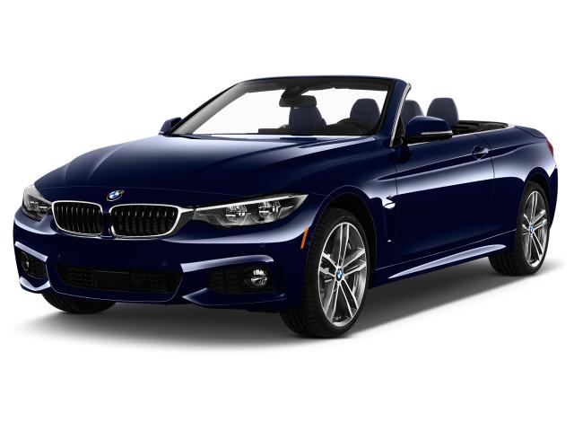 2020 BMW 4-Series 430i xDrive Convertible Angular Front Exterior View