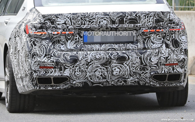 2020 Bmw 7 Series Spy Shots