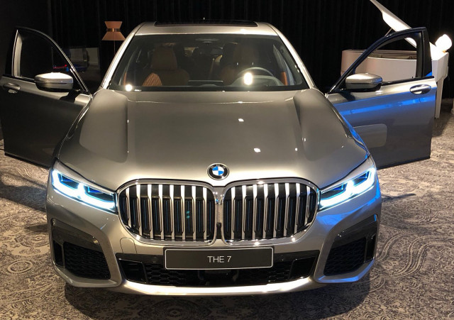 2020 BMW 7-Series leaked - Image via @StanRudman
