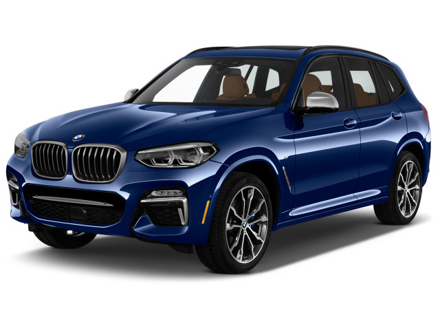 2020 BMW X3 M40i Sports Activity Vehicle Angular Front Exterior View