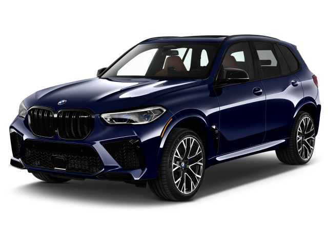 2020 BMW X5 Competition Sports Activity Vehicle Angular Front Exterior View