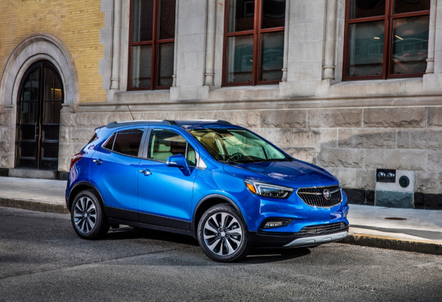 2021 Buick Encore rolls on with 5-star safety rating
