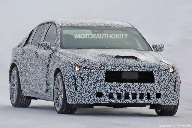 2020 Cadillac CT5 spy shots - Image via S. Baldauf/SB-Medien