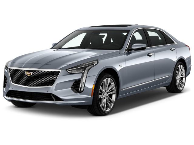 2020 Cadillac CT6 4-door Sedan 4.2L Turbo Platinum Angular Front Exterior View