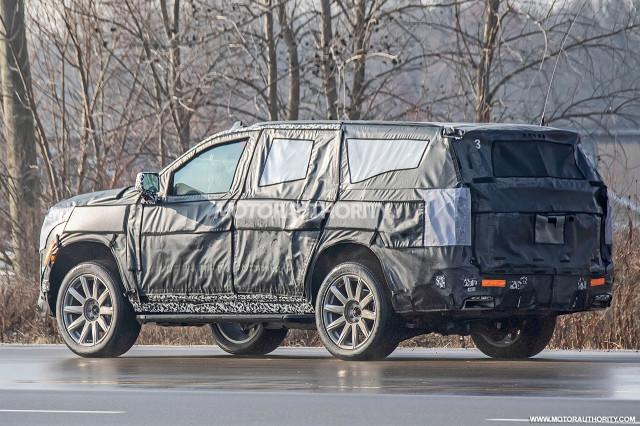 2020 Cadillac Escalade spy shots - Image via S. Baldauf/SB-Medien