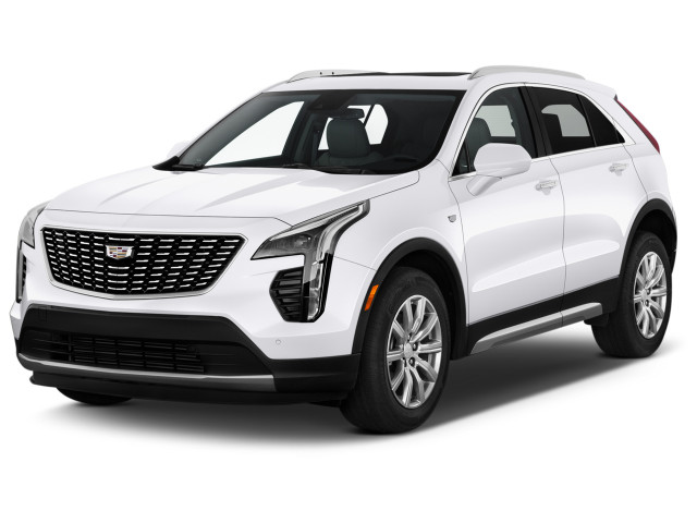 2020 Cadillac XT4 FWD 4-door Premium Luxury Angular Front Exterior View