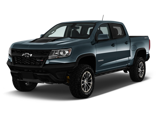 "2020 Chevrolet Colorado 4WD Crew Cab 128"" ZR2 Angular Front Exterior View"
