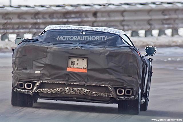 C8 Corvette spied, Mulsanne coupe revealed, VW Touareg ...