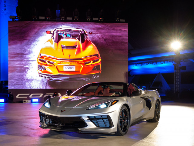 2020 Chevy Corvette Convertible full of more firsts