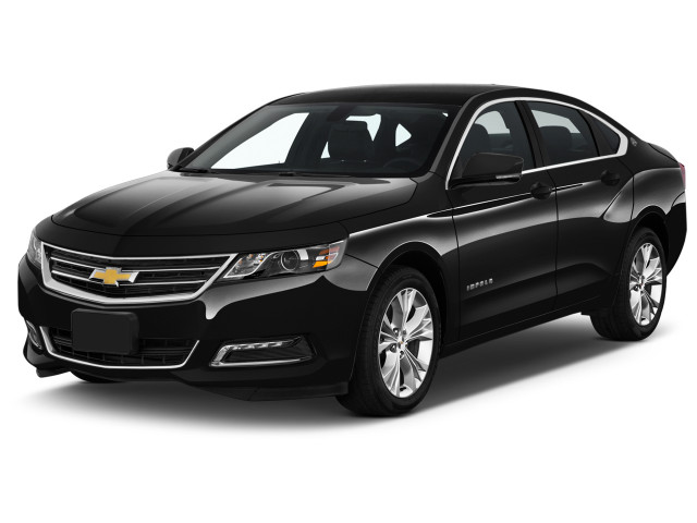 2020 Chevrolet Impala 4-door Sedan LT w/1LT Angular Front Exterior View