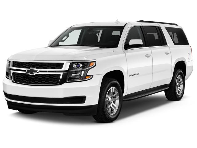 2020 Chevrolet Suburban 4WD 4-door 1500 LS Angular Front Exterior View