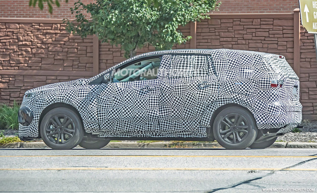2020 Ford electric SUV spy shots - Image via S. Baldauf/SB-Medien