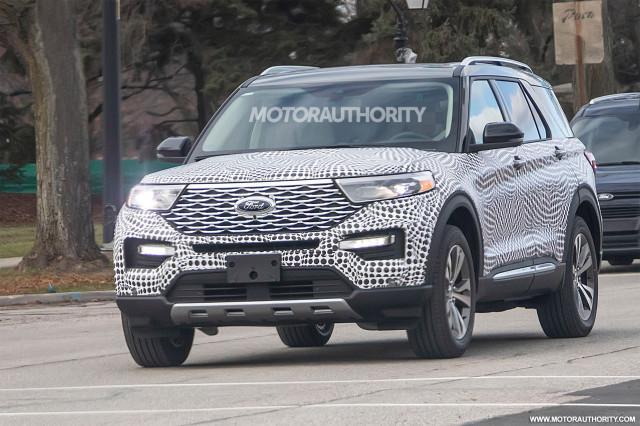 2020 Ford Explorer Spy Shots And Video