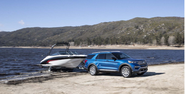 Ford Explorer ST and Hybrid unveiled