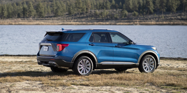 2020 Ford Explorer SUV earns Top Safety Pick+; Lincoln Aviator nabs TSP award