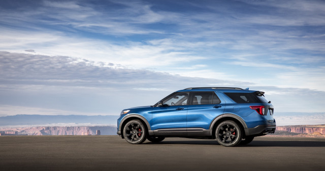2020 Ford Explorer ST - First Drive - Portland OR, June 2019