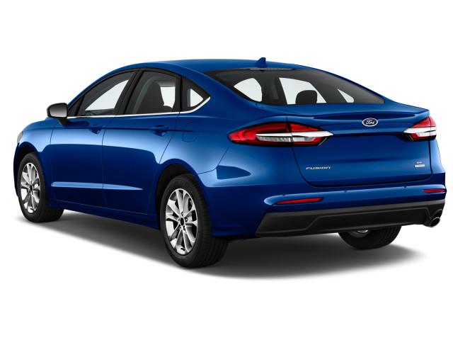Ford Fusion 2020 Rear