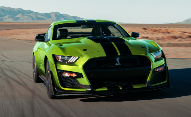 2020 Ford Mustang Shelby GT500 in Grabber Lime