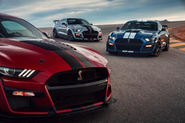 2020 Ford Mustang Shelby GT500 media drive, Las Vegas, October, 2019