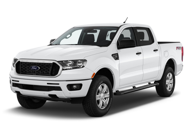 2020 Ford Ranger XLT 4WD SuperCrew 5' Box Angular Front Exterior View