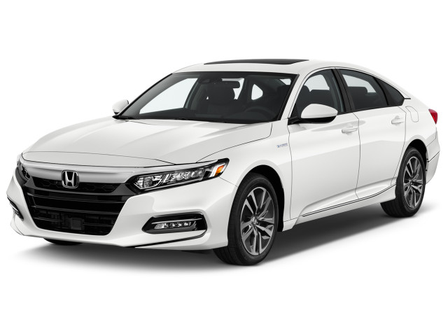 2020 Honda Accord EX Sedan Angular Front Exterior View