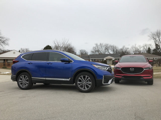 2020 Honda CR-V vs. 2020 Mazda CX-5